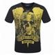 Philipp Plein Black Men T Shirt