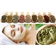 Green, yellow  clay beauty face mask