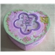 00130FF Cardboard Music Box (Heart Shape)