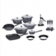 22pcs Cookware Set