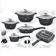 19pcs Cookware Set