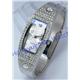 Fashionable lady's bracelet watch