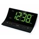 R0281 L-shape LED Clock Radio