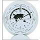 aluminium desk clock with date-day